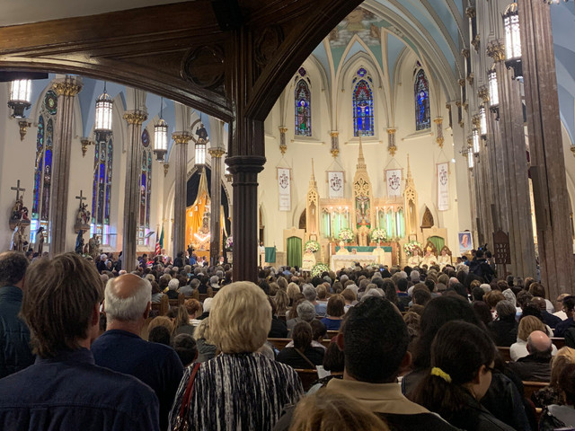 Brooklyn church honors Mother Cabrini since the city won't