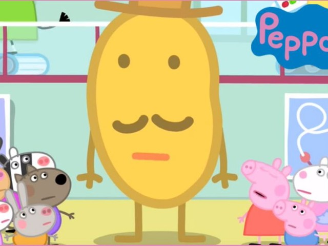We need to talk about Mr. Potato, the anthropomorphic sports potato from 'Peppa Pig'