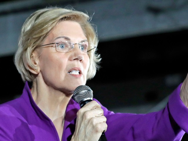 Elizabeth Warren rolls out plan to break up tech giants in the same city where Amazon's New York HQ2 was going to be