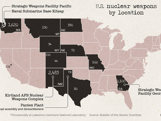 Visualizing The Cost And Composition Of America's Nuclear Weapons Arsenal