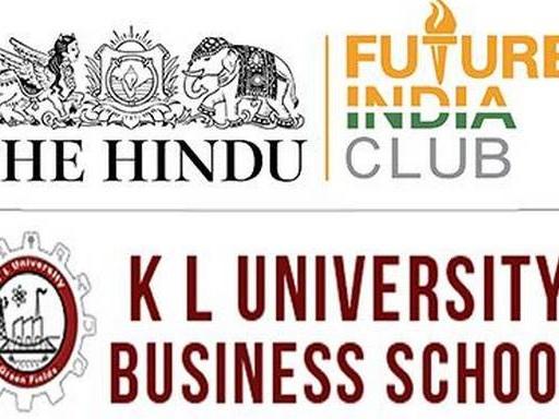 The Hindu Future India Club seminar at KITS today