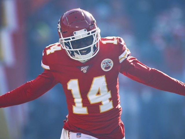 The Chiefs signed Sammy Watkins for moments like the Super Bowl
