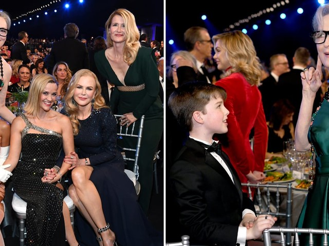The Big Little Lies Cast Reunited at the SAG Awards and *Insert Meryl Scream*