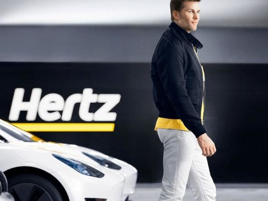 """Hertz Announces """"Partnerships"""" With Uber And Carvana For Its 100,000 Incoming Teslas Because Why Not"""