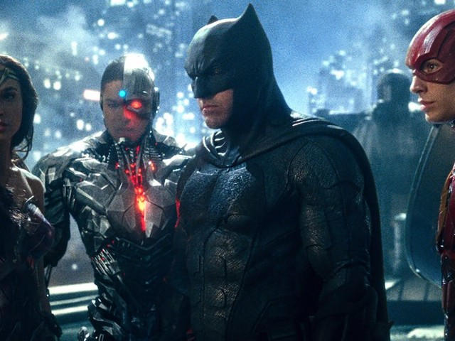 'Justice League' has good superheroes but they get bogged down by a lame villain and plot to destroy the world