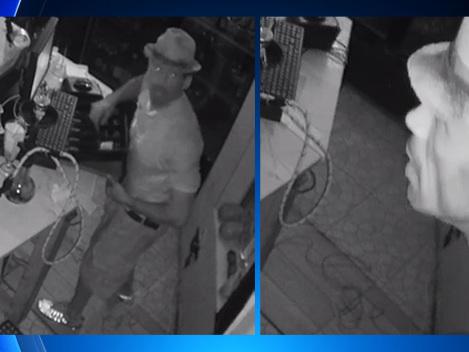 Video: Burglars Bust Through Miami Restaurant, Steal Cash & Property