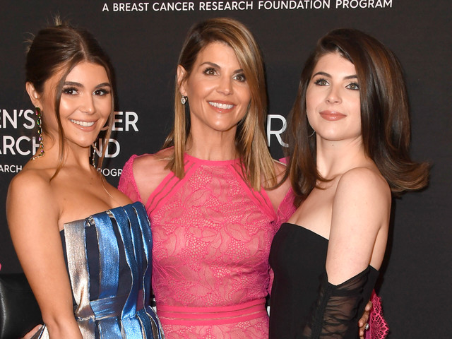 Lori Loughlin's Daughters Pose on Rowing Machines in New Photos Released by Prosecutors