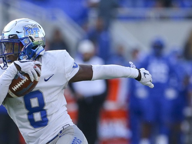 MTSU's constant transition, now with the HC replacing his son at QB