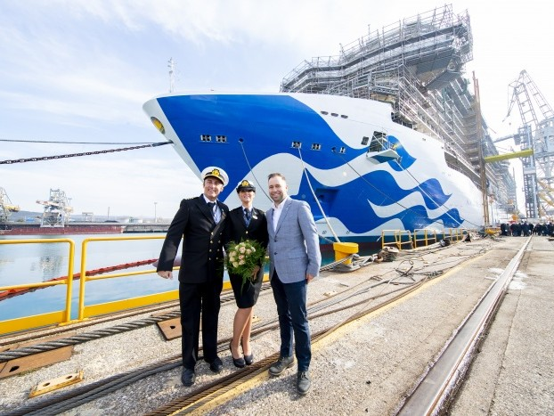News: Princess Cruises welcomes milestones for three new ships