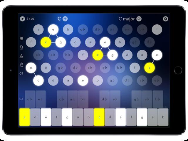 Navichord for iPhone arrives, for navigating harmonies