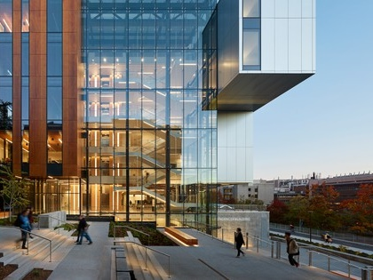 """New Life Science Building at University of Washington is described as """"hyper-sustainable"""""""