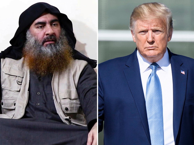 Trump says ISIS leader al-Baghdadi died 'whimpering and crying and screaming all the way'