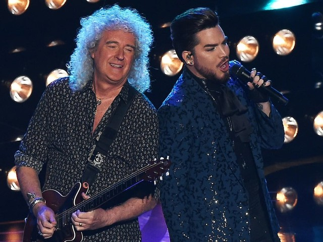 Even the Audience Couldn't Help but Rock Out to Queen and Adam Lambert's Oscars Performance