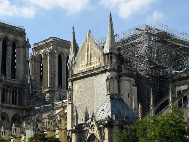 Damaged but not destroyed, Notre Dame Cathedral to hold its first mass since fire