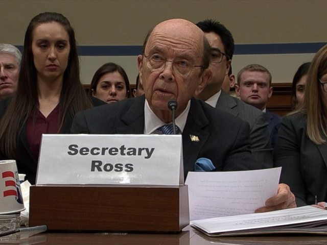 WATCH: Commerce Secretary defends effort to add citizenship question to 2020 census