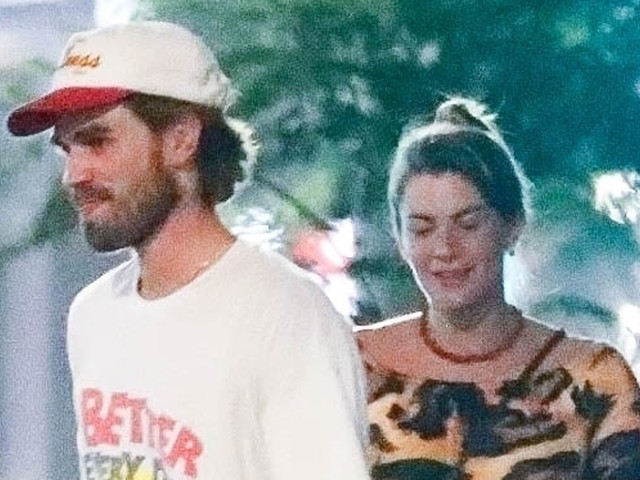 KJ Apa & Pregnant Girlfriend Clara Berry Step Out With Friends For Night Out