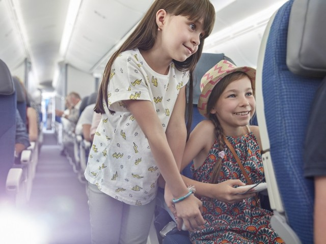 Your guide to flying with kids of every age