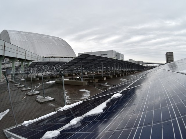 Chernobyl Disaster Site Transformed From Monumental Sarcophagus To Massive Solar Plant