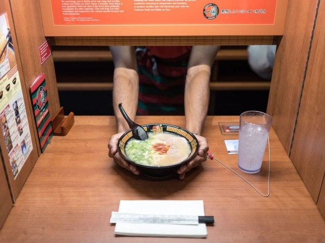 This Japanese Restaurant Is So Private That Food Will Be Served Without Eye Contact At All