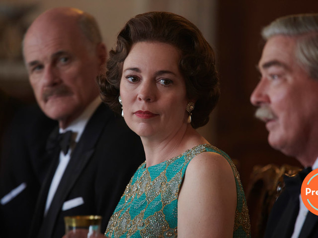 The Crown's third season premiere offers a new queen and a weird tangent
