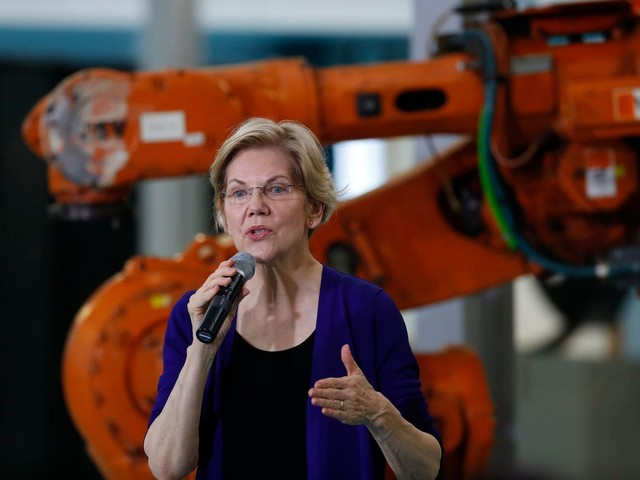 Warren's nonstop ideas reshape the Democratic presidential race — and give her new momentum