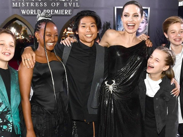 """Angelina Jolie Is """"Finally Free"""" Thanks to Her Kids"""