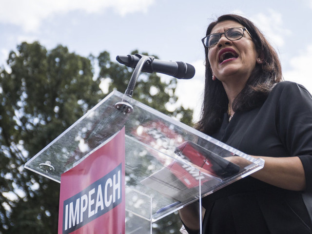 Rep. Rashida Tlaib: We're trying to figure out how to arrest Trump admin officials and where to hold them