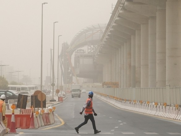Video: Dust storm warning issued in UAE