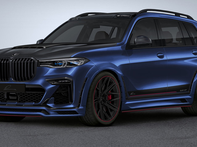Lumma Design Adorns BMW X7 With Bold New Widebody Kit