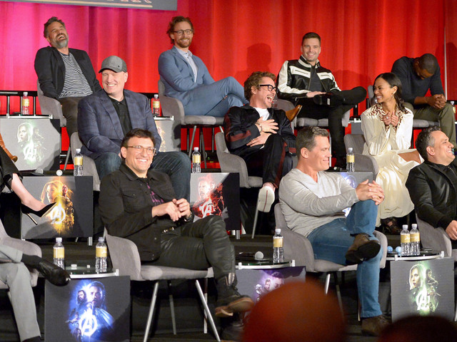 'Avengers: Infinity War' Cast Get Together for Global Press Conference!