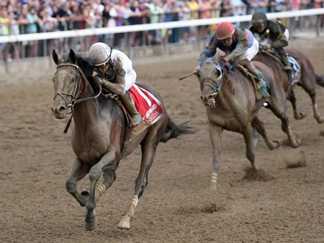 Maximum Security returns to the races for first time since Kentucky Derby DQ