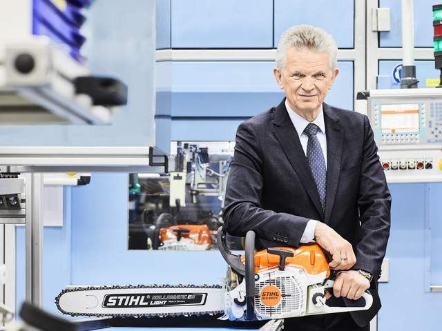 STIHL reports record revenue and strong growth in cordless electric power tools
