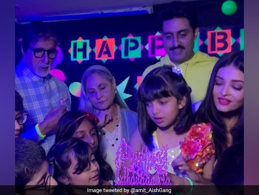 Inside Aaradhya's Birthday Party With Big B Jaya, Aishwarya And Abhishek