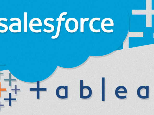 Salesforce is acquiring data viz company Tableau for $15.7 billion