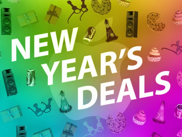 Shop for New Year's Deals on Apple Products Including MacBook Pro, AirPods, iPad, and More