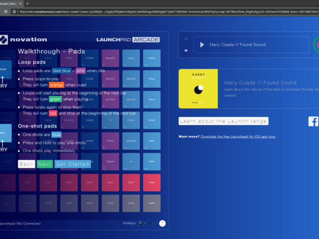 Novation now let you Launchpad with just a browser
