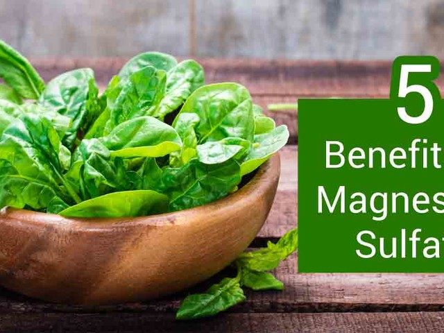 Magnesium sulfate — How to use it as a supplement