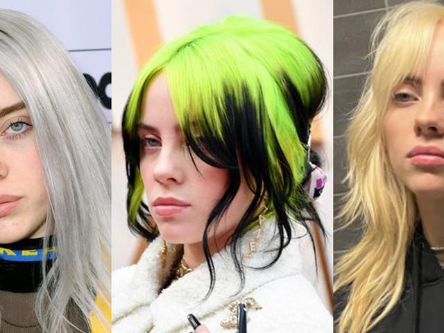 Billie Eilish's Hair Style Evolution Over the Years