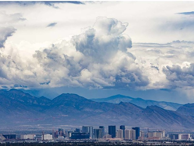 Las Vegas to see cooler temps early this week