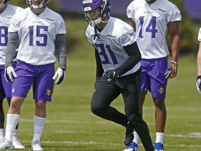 Vikings see promise in young receivers, including rookie Bisi Johnson