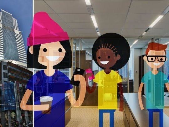 Morgan Stanley's offices are getting a millennial makeover