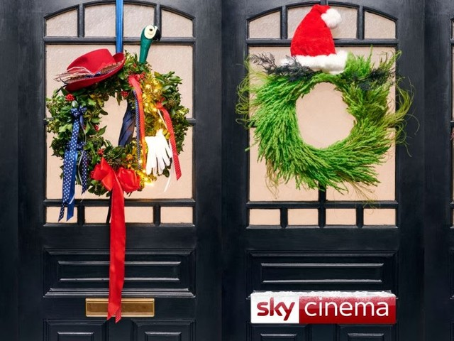 SKY CINEMA LAUNCHES MOVIE-INSPIRED WREATHS JUST IN TIME FOR CHRISTMAS
