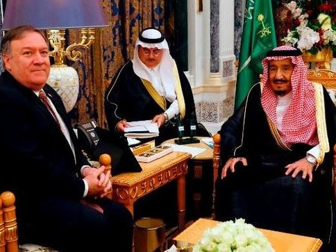 Pompeo Took 12-Hour Flight To Saudi Arabia For '15 Minute Meeting' With King Salman