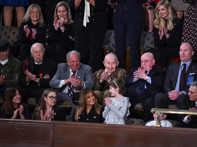 Politicians' State of the Union guests embody their partisan arguments