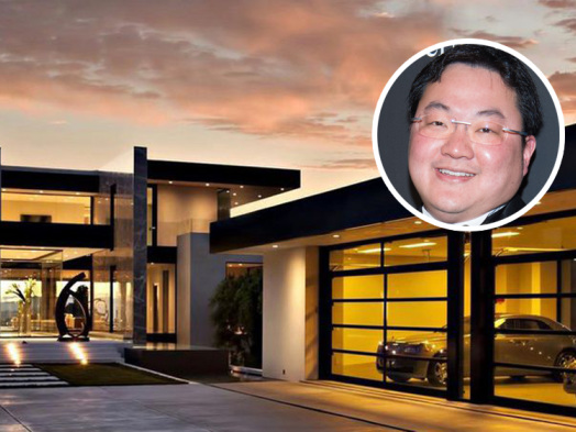 Jho Low's Gutted Hollywood Hills Mansion Lists at $15 Million Loss