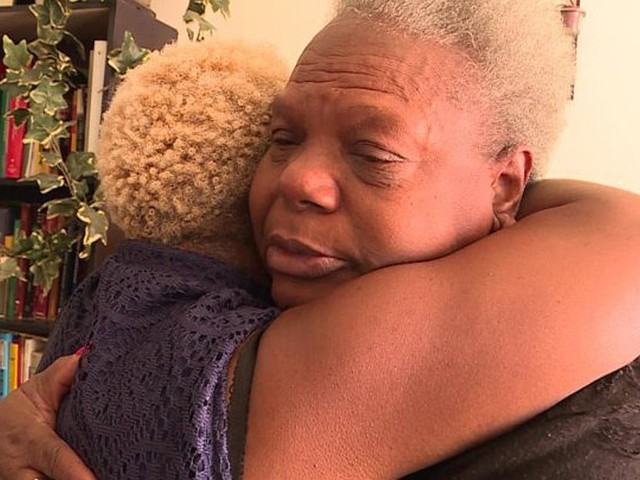 Teacher reunites with her birth mother after 50-year search