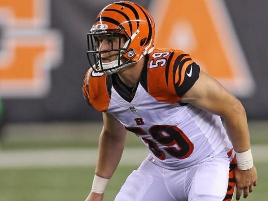 Bengals LB Nick Vigil out one month with sprained MCL