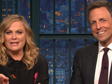 "Amy Poehler and Seth Meyers Revive SNL's ""Really?!"" Segment Again"