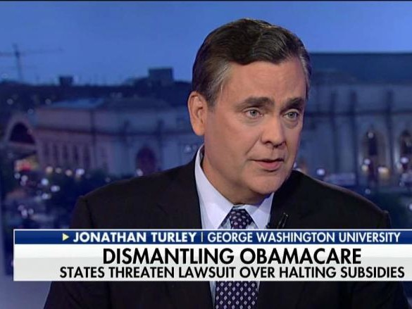 Jonathan Turley on Trump Ending ObamaCare Subsidy Payments Democrats Rip Wall Plan
