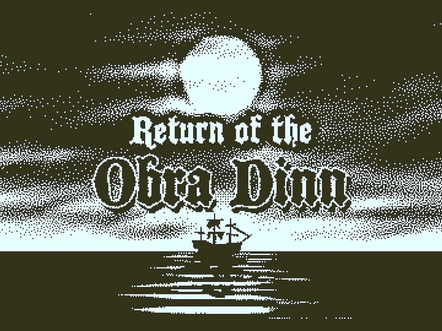Return of the Obra Dinn – Adventures in One Bit, Out Tomorrow